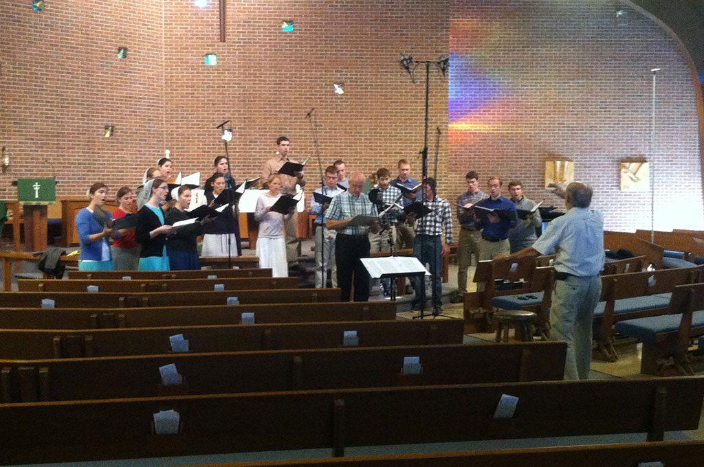 recording ensemble onsite