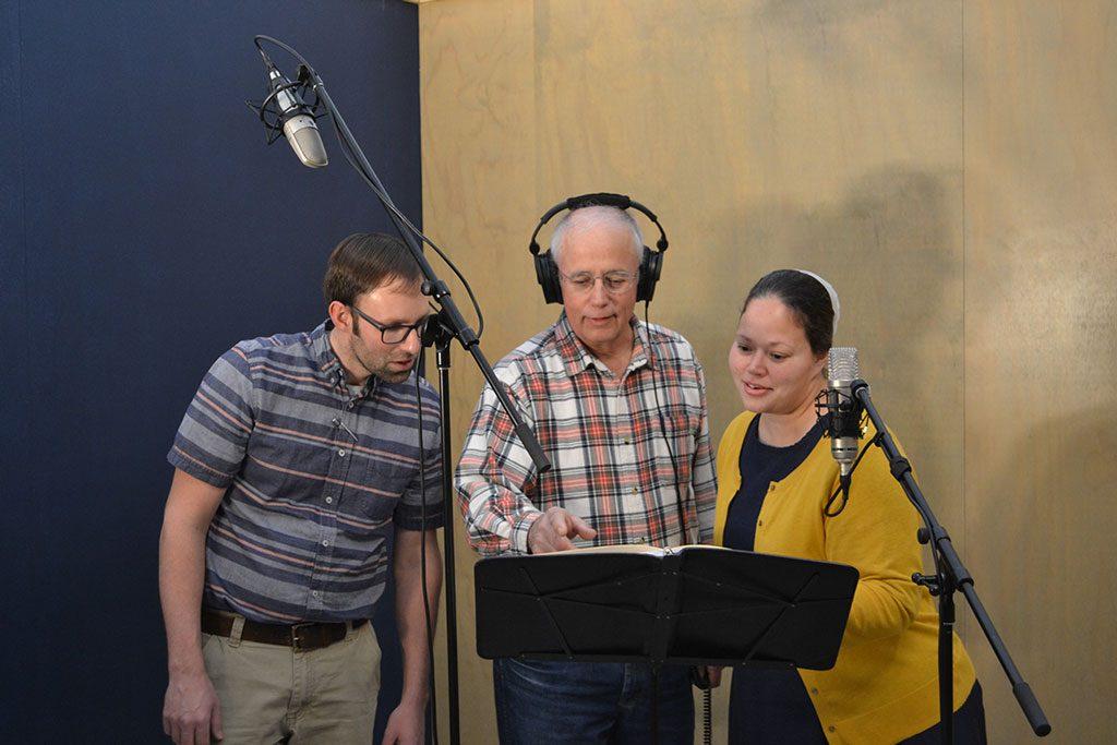 recording trio